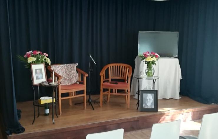 Akademie für Geschäftserfolg - Bühne für den Enneagramm Workshop mit Lisa Schumacher